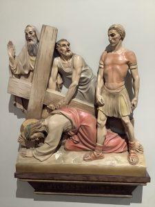 Jesus falls a third time